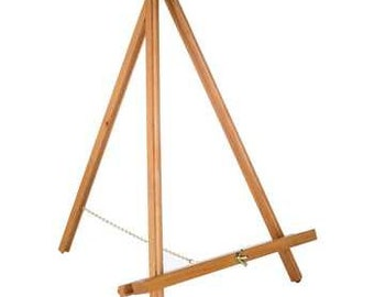 Large Tabletop Wooden Easel