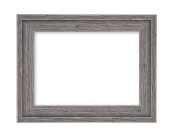 Gray Barn Wood Rustic Picture Frame Decor Wall Frames