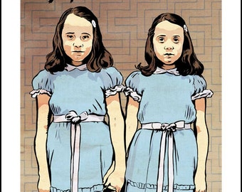 The Shining movie poster giclee print by David Lasky