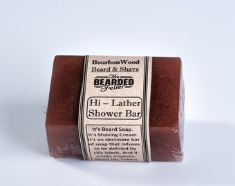 Hi-Lather Beard, Shaving, & Shower Soap
