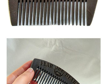 Wooden Beard Comb Beard comb Gift for dad Gift for him Dad gift Beard styles Gifts for dad Gift for him Gifts for boyfriend Valentine gifts