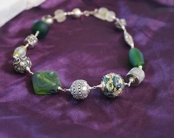 Vintage Earth Essence Necklace