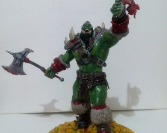 Ork from the universe of World of Warcraft
