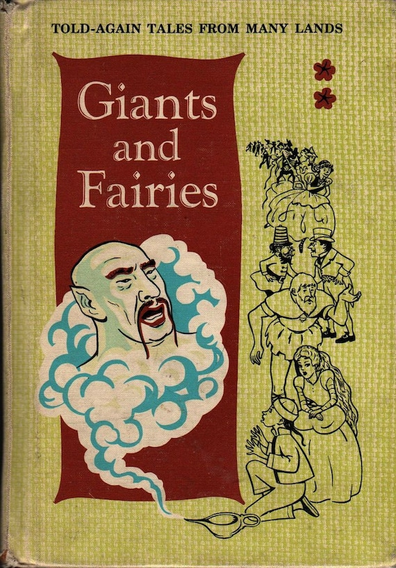 Giants and Fairies Told-Again Tales From Many Lands + Grace E. Potter and Constance Gilbert + 1964 + Vintage Kids Book