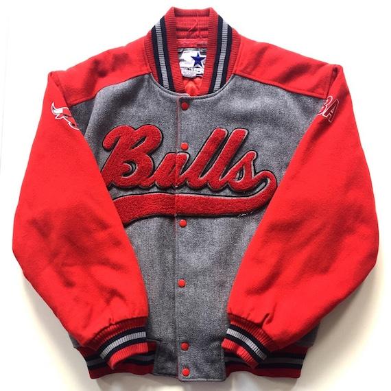 CHICAGO BULLS Starter red/white k size XL pTmf38