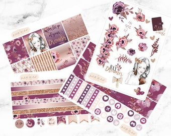 Erin Condren Horizontal Day Dreamer Weekly Kit Planner Stickers