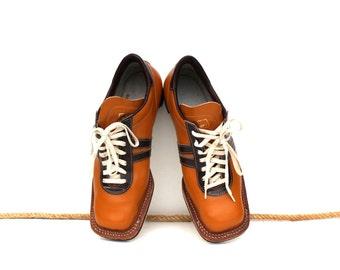 Mens boots Womens boots Unisex boots Soviet vintage ski shoes UNUSED Genuine leather ski boots Russian ski gear Soviet unisex footwear