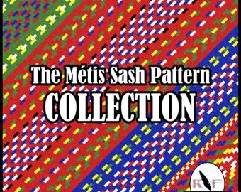 Loom Beading Patterns - The Métis Sash Pattern Collection