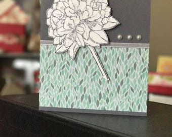 For her (To an amazing woman) card in handmade