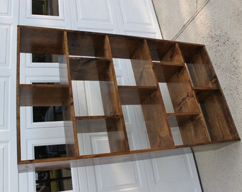 Subway Tile Bookcase