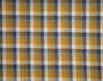 Homespun Fabric | Cotton Fabric | Home Decor Fabric | Rag Quilt Fabric | Plaid Fabric | Apparel Fabric | Primitive Fabric | Craft Fabric