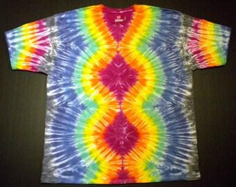 Tie Dye Shirt, Climbing Hourglass, Size XX-Large, 2XL