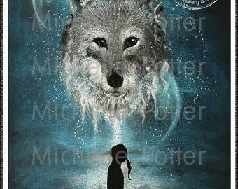 Personalised Spirit Guide Portraits by Visionary Artist Michelle Potter