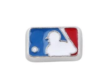 Major League Baseball Logo Floating Charms