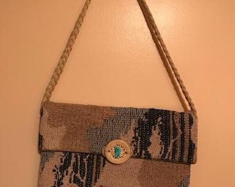 Vintage 70's Handbag Handmade Very Cool