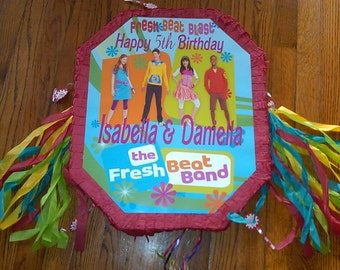 Piñata Fresh Beat Band, PJ Mask  and other Custom Piñata Large