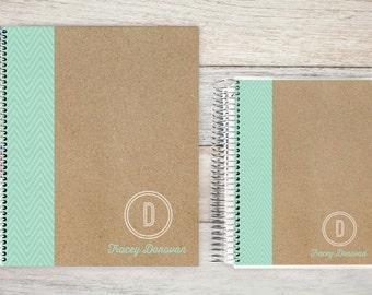 Planner | 2018 Planner | Weekly Planner | Hourly Planner | Custom Planner | Personal Planner | Life Planner | Planners |  mint chevron