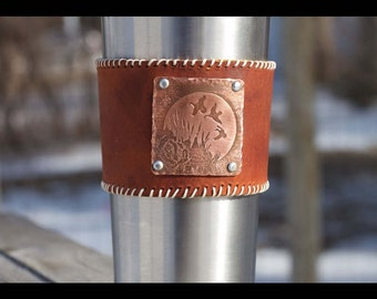 Gift for Dad Hunting, Housewarming Gift Idea For Him, Fathers Day Gift Hunting, Personalized Gift for Guy, Third Year Leather Anniversary