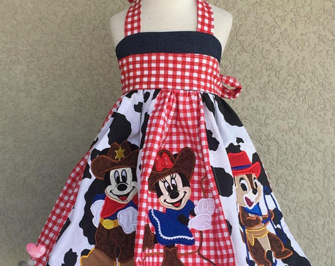 Mickey Mouse and Friends Rodeo Ellie Dress