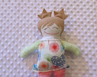 Noelle Small Handmade Baby Doll