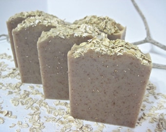 Oatmeal Milk and Honey Soap.