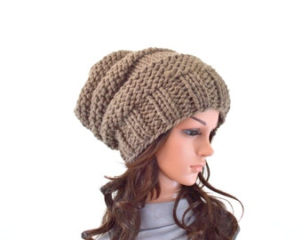 Chunky Extra Slouchy Hat Beanie Toque | The Arena