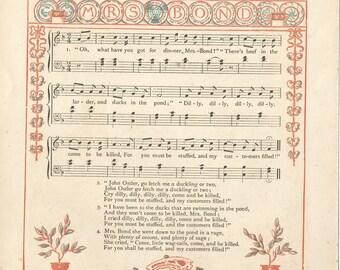 Walter Crane Nursery Rhymes c.1877
