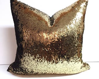 Gold/Black Reversible Sequin