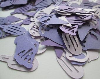 Paper Confetti >> shades purple ice cream, confetti, tablescape, party accessories, party supplies, party decor