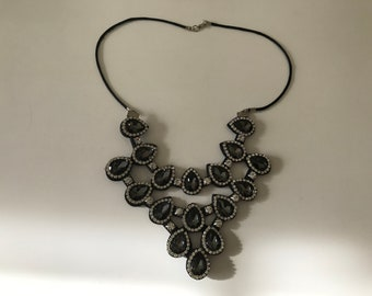 Necklace is on the felt all Crystal