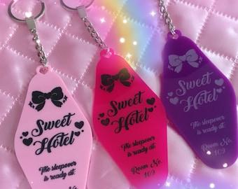Sweet Hotel KEY TAG