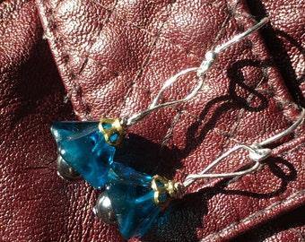 Blue belle dangle