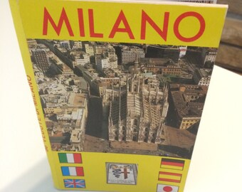 Vintage Travel Book /Photos Maps Points of Interest / Italy Travel Guide