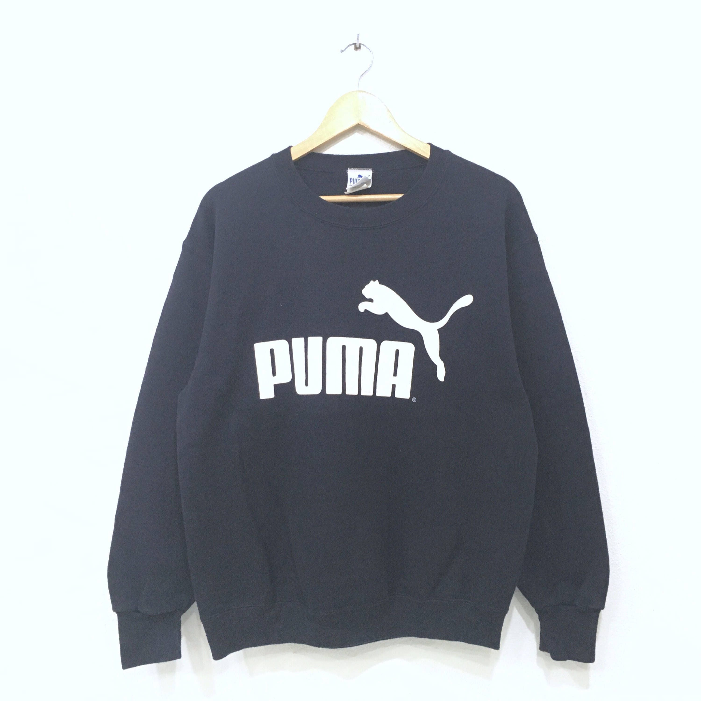 Rare!! UCLA Spellout Small Logo Stripes Sweatshirt Pullover Jumper sportwear Activewear Hiphop swag medium Size df52O9M