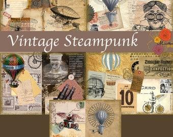Vintage Steampunk (Digital paper)