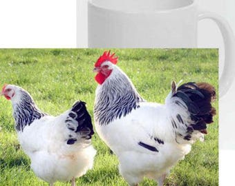 Mug 1 Easter special with photo of a hen with chicks