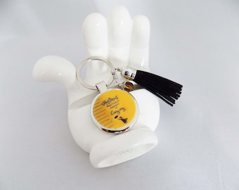 Mary Poppins Practically Perfect In Every Way Keychain