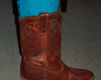 Hand Knitted Boot Toppers