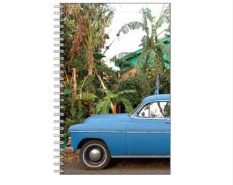 Blue Car and Banana Trees Journal