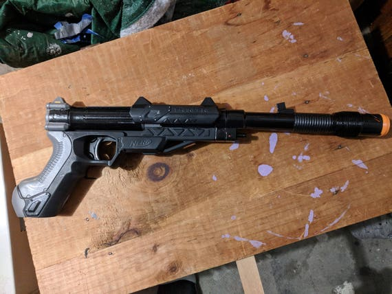 Luger parts for Nerf Sharpfire and Sharpfire Delta by Z0r4n - Thingiverse