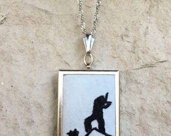 Broadway Musical Fiddler on the Roof Hand Embroidered Necklace