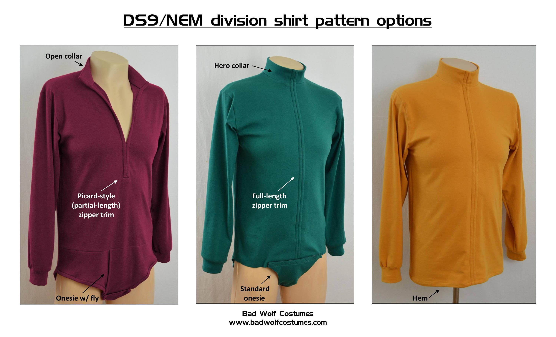Star Trek Sewing Pattern Bundle - Starfleet admiral uniform - Deep ...