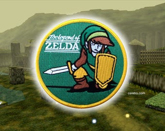 Legend of Zelda embroidered iron on patch