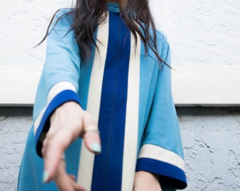 1960's Vintage Maxi Robe Dress