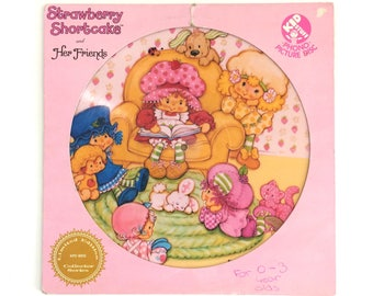 Vintage Strawberry Shortcake and Her Friends Limited Edition Vinyl Record LP Picture Disc [1981]