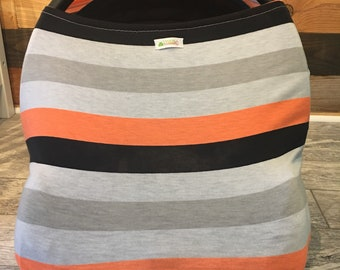 Nursing cover and car seat cover in 1