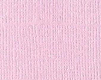 Scrapbooking Bazzill textured canvas paper Romance 30 x 30 cm - Ref 11110138 - until the stock!