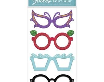 Jolee's Boutique Decorative Stickers, Glasses Dress Ups  RJ2-14-GD