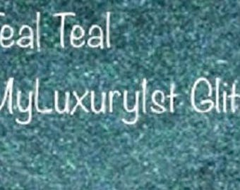 Teal Teal Blue Pigment MyLuxury1st Craft Glitter Cold Process Topper Topping Glittering Colorant Color Soap Making DIY Blue Green Glitter