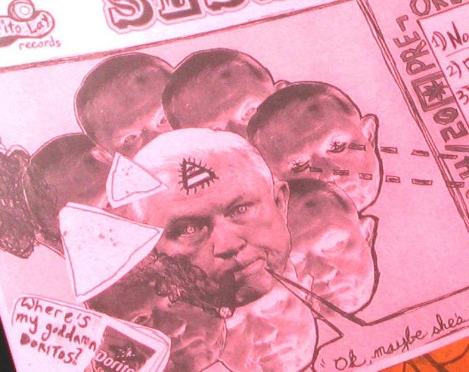 "Featured listing image: ""Jefferson Beauregard Sessions Got The Munchies"" [satire handbill print, 8.5x11""]"